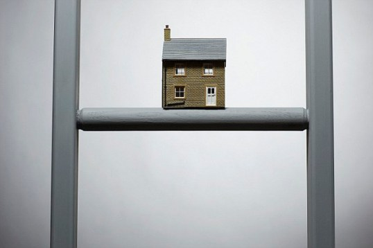 Small House on Ladder Rung